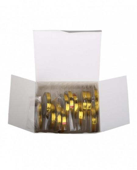 Banda decorativa pentru unghii gold