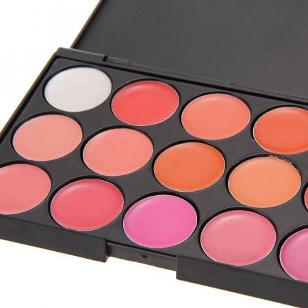 Set machiaj cu geanta make-up + Trusa 120 culori + Concealer + Burete ou