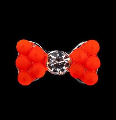 Decor metalic unghii 1 bucata Fundita orange