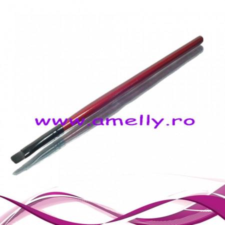 Pensula pentru sprancene Megaga Professional