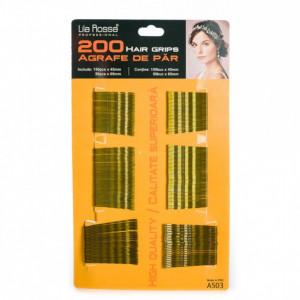 Agrafe pentru coafor coafura frizerie 200 buc Blonde