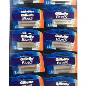 Aparat de ras Gillette Blue3 , 12 buc unica folosinta