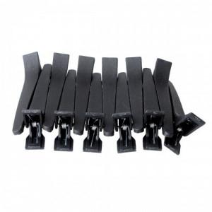 Clipsuri frizerie din plastic set 12 bucati