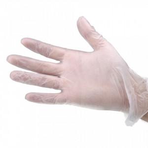 Manusi latex fara pudra pentru manichiura Lila Rossa, 100 buc, marimea L