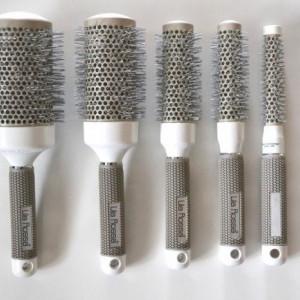 Set kit 5 perii nanoceramice rotunde coafor frizerie profesionale perie par rotunda