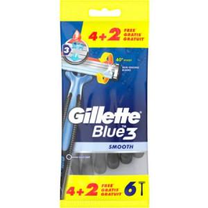 Aparat de ras Gillette Blue3 , 6 buc unica folosinta