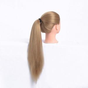 Cap practica manechin salon frizerie coafor Lung Des Sintetic 50cm Blond