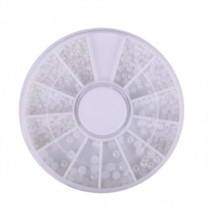 Carusel decor unghii false cu perle AJ215