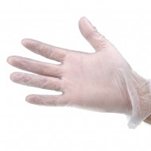Manusi latex fara pudra pentru manichiura Lila Rossa, 100 buc, marimea S