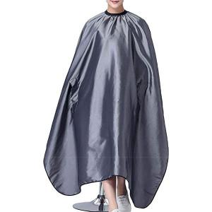 Pelerina manta pentru tuns lunga gri frizerie coafor