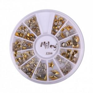 Produse unghii false carusel AJ204 gold