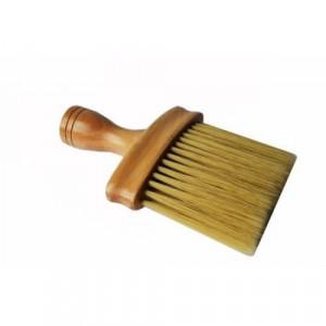 Set complet frizerie barber Praga cu foarfeca tuns si filat rosu negru brici metalic manta barbershop