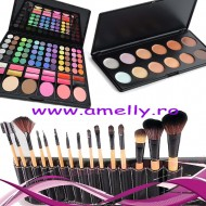 Set make up trusa cosmetice 78 culori 15 pensule bobbi brown si concealer
