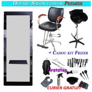 Dotare salon coafor frizerie Premier
