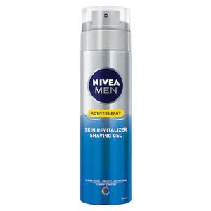 Gel de ras revitalizant Nivea Men Skin Energy Q10, 200ml