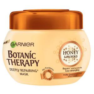 Masca de par Garnier Botanic Therapy Honey & Propolis pentru par deteriorat cu varfuri despicate, 300 ml