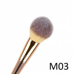 Pensula profesionala machiaj pentru iluminator ca varf ascutit  Model 3