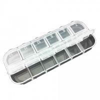 Cutiuta din plastic pentru strasuri accesorii unghii