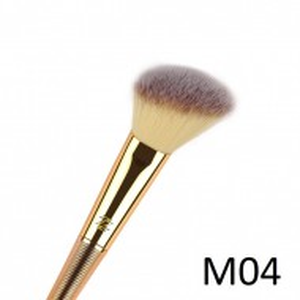 Pensula profesionala machiaj pentru blush Model 4 Taiata oblic
