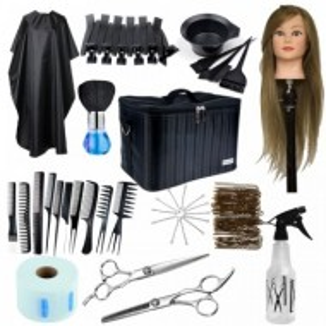 Set kit frizerie coafor BIANCA profesional complet produse scoala