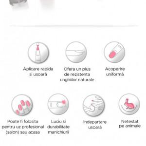 Tratament 3 in 1 (baza + top + intaritor) Lila Rossa Vogue, 11 ml