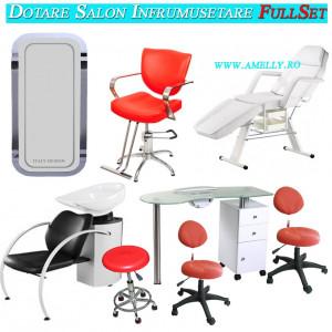 Dotare salon frizerie coafor infrumusetare mobilier saloane FullSet