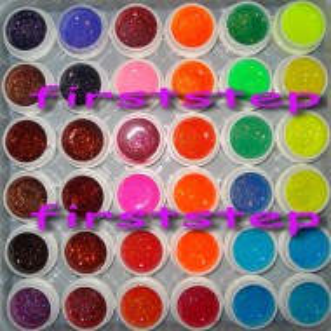 Set 36 geluri colorate COCO glitter