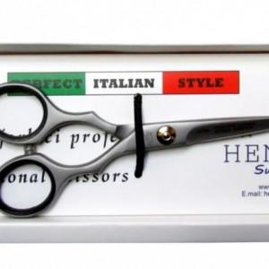 Set foarfeca tuns si filat frizerie coafor Yoko cu brici metalic 10 lame si geanta pentru depozitare