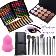Trusa machiaj 180 nuante + Fond de ten corector + 15 pensule make up NARS
