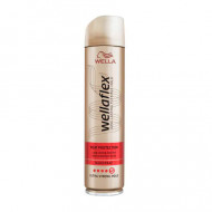 Fixativ Wella Wellaflex Heat Protection pentru fixare foarte puternica, 250 ml