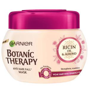 Masca de par Garnier Botanic Therapy Ricin Oil & Almond pentru par cu tendinta de cadere, 300 ml