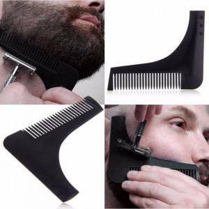 Set complet barber cu brici metalic suport pamatuf si bol pentru ras barba