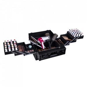 Cutie Geanta cosmetice mare case 3D makeup profesional frizerie
