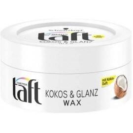 Taft Ceara pentru par Kokos and Glanz Wax, 75 ml