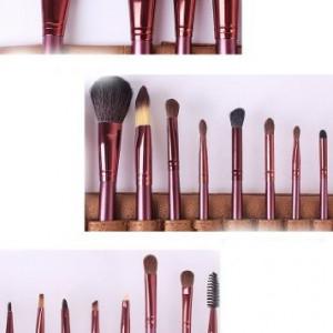 Trusa machiaj 120 nuante + 24 pensule par natural megaga