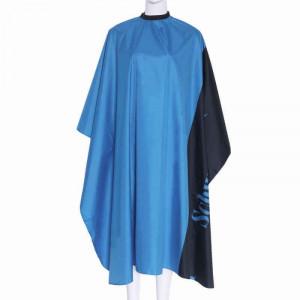 Pelerina manta pentru tuns albastru/negru lunga frizerie coafor
