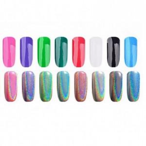 Pigment perlat pentru unghii set 12 culori