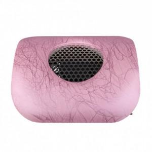 Colector aspirator praf unghii model roz cu dungi