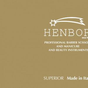 """Foarfeca profesionala de filat 5.5"""" Henbor ITALIA Golden Line pentru frizerie coafor salon"""