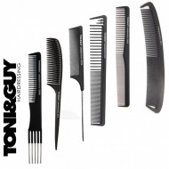 Set kit 6 piepteni carbon antistatici Toni & Guy frizerie coafor