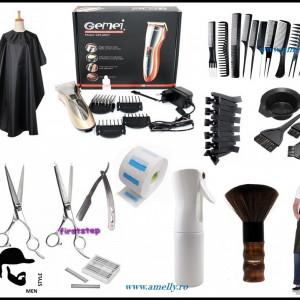 Set kit Thermax produse accesoarii scoala frizerie coafor barbati