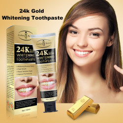 24K Pure Gold Toothpaste, 100ml