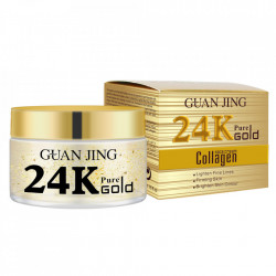 24K Pure Gold Collagen Face Cream, 50ml