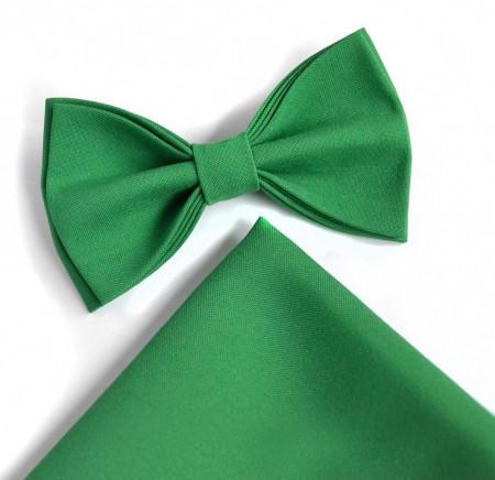 set papion batista satin verde