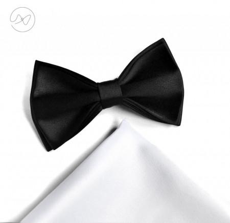 set papion batista alb/ negru