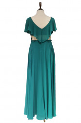 rochie de ocazie turcoaz