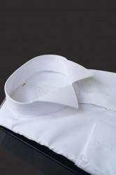 Camasa alba papion butoni