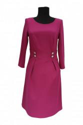 Rochie de zi roz Sophie