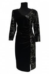 Rochie de seara din catifea elastica Claire