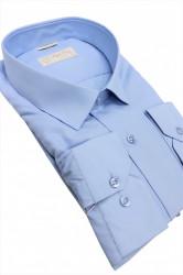 Camasa bleu clasica Lucio